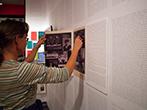 """Neue Dauerausstellung im """"Einar-Schleef-Zentrum"""" Sangerhausen. Foto: Christina Voigt"""