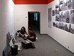 """Einrichtung der neuen Dauerausstellung im """"Einar-Schleef-Zentrum"""" Sangerhausen. Foto: D. Wrobel"""