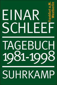 Einar Schleef: Tagebuch 1981-1998