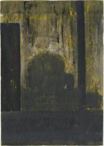 einar-schleef-telefonzelle-studie-1970-deckfarbe-auf-papier-100x70cm