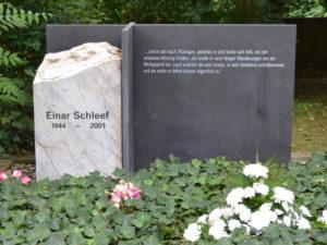 Einar Schleef - Gedenken am Grab @ Friedhof Sangerhausen, Abt. 11