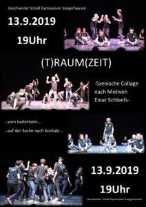 (T)Raum(Zeit). Voraufführung. @ Geschwister-Scholl-Gymnasium (Aula)